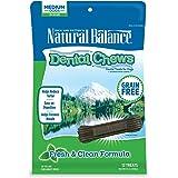 Natural Balance Dental Chews Dog Treats, Grain Free