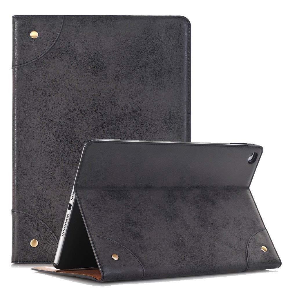New Mini iPad 5 Case 7.9 Inch, YiMiky Full Body Protective Cover for iPad Mini 4 Lightweight Slim PU Leather Case Folio Stand Shell for 7.9 Inch iPad Mini 5 2019/ iPad Mini 4 2015 - Black