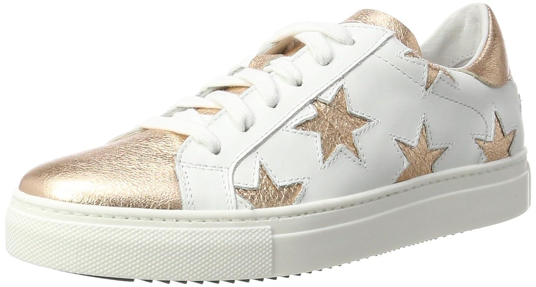 Stokton Sneaker, Zapatillas para Mujer 42 EU Multicolor (White/Rosegold)