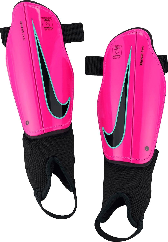 Nike ユース チャージ 2.0 サッカーすね当て シンガード B07B38QVGH Small|Pink Blast/Green/Black Pink Blast/Green/Black Small