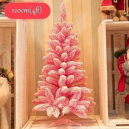 Pink Artificial Christmas Tree.Amazon Com Kele Pink Artificial Christmas Tree Xmas Pine