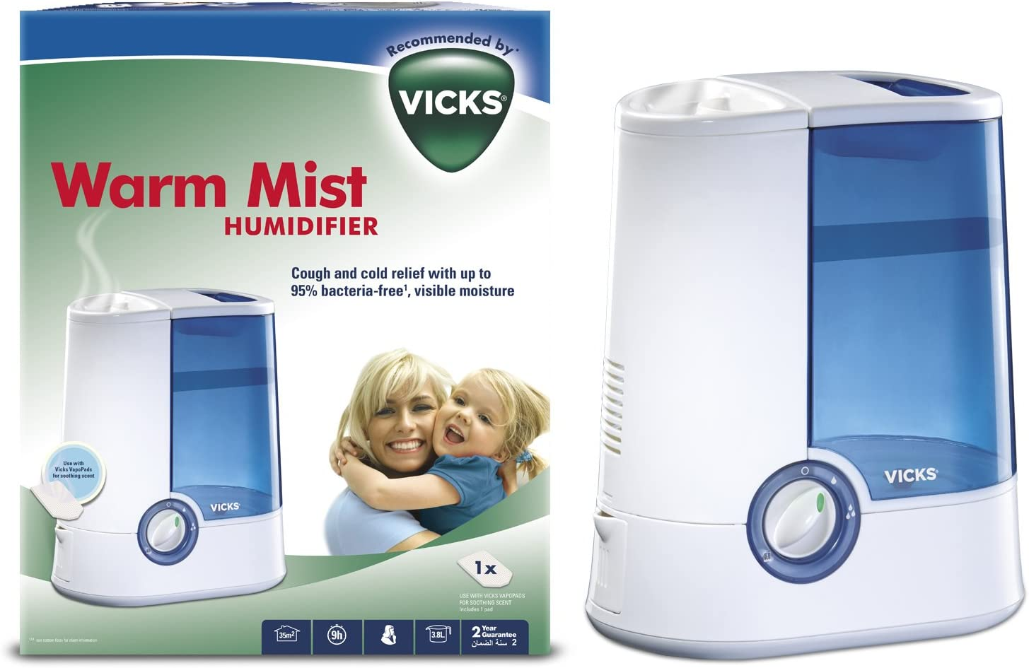 Vicks VH750 Warm Mist Humidifier