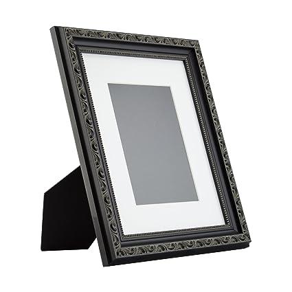 Amazon.com - Ancien Ornate Table-top 8x10 Antique Black Standing ...