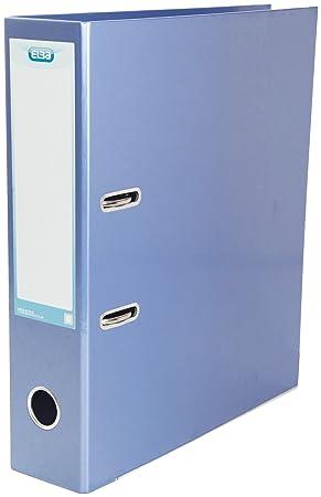 Elba - Archivador de palanca (tamaño A4, 10 unidades), color azul: Amazon.es: Oficina y papelería