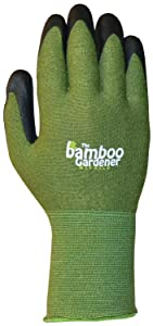 Bellingham C5371M The Bamboo Gardener Work Gloves for Big Jobs, Medium