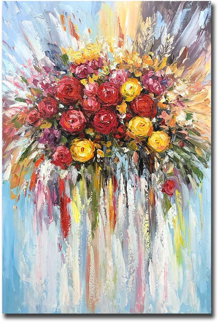 Spring Time 24x36 Hand Painted Oil Painting on Canvas