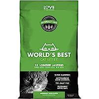 World's Best Cat Litter 6.35kg Green Clumping Unscented