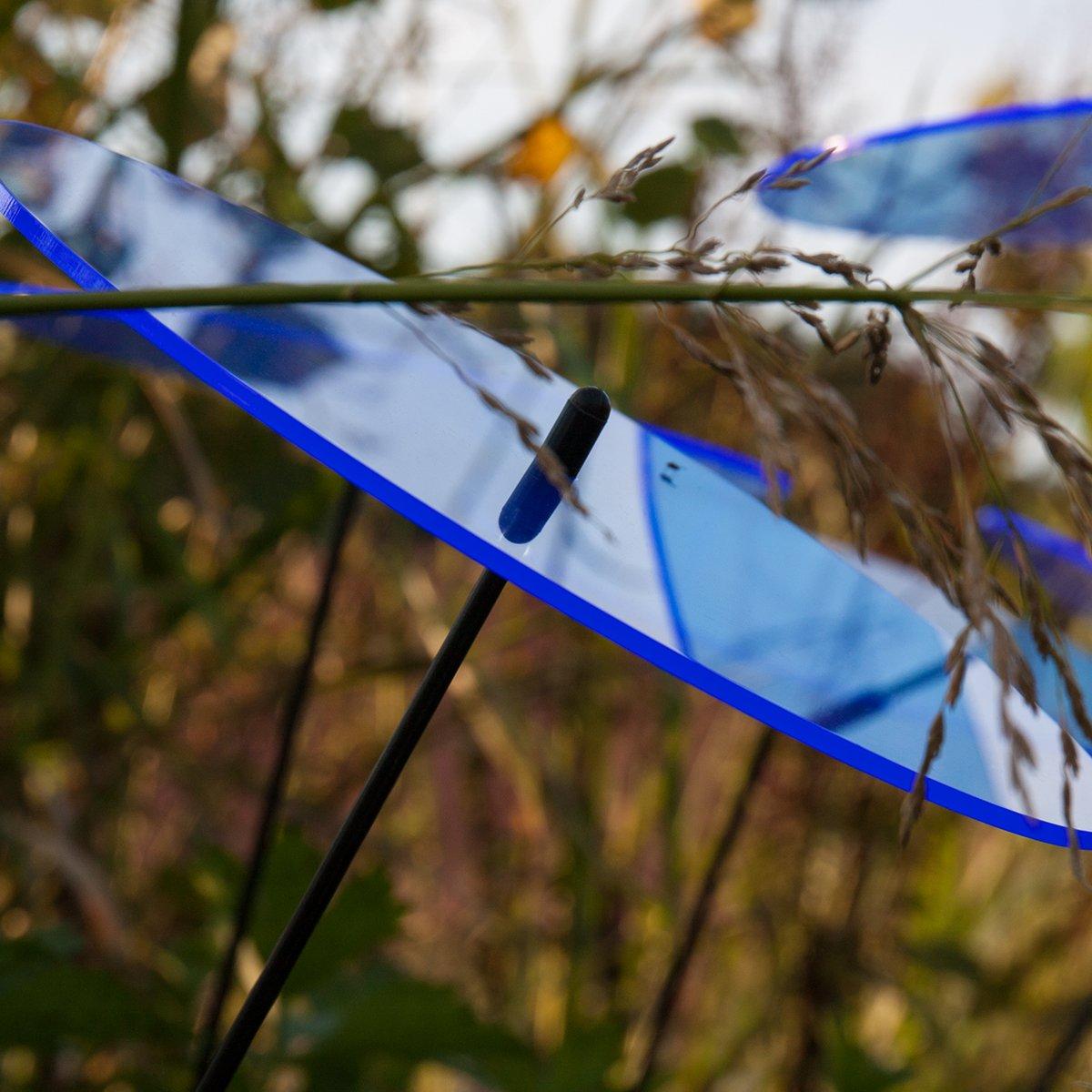 SUNPLAY Sonnenf/änger-Scheiben in BLAU 35 cm Schwingst/äbe 3 St/ück je 10 cm Durchmesser im Set