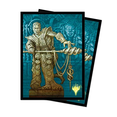 Theros: Beyond Death - Calix, Destiny's Hand - Limited Edition Alt Art Deck Protector Sleeves for Magic: The Gathering (100 ct.): Toys & Games