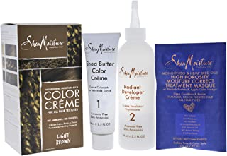 product image for Shea Moisture Nourishing Hair Color Kit, Light Browm