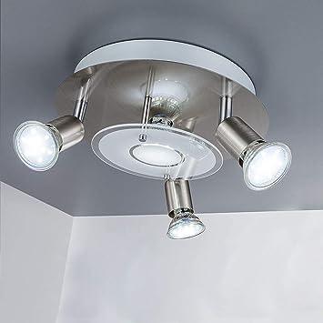 4PC Modern LED Ceiling Light Round Down Lights Bathroom Kitchen Bedroom Lamp