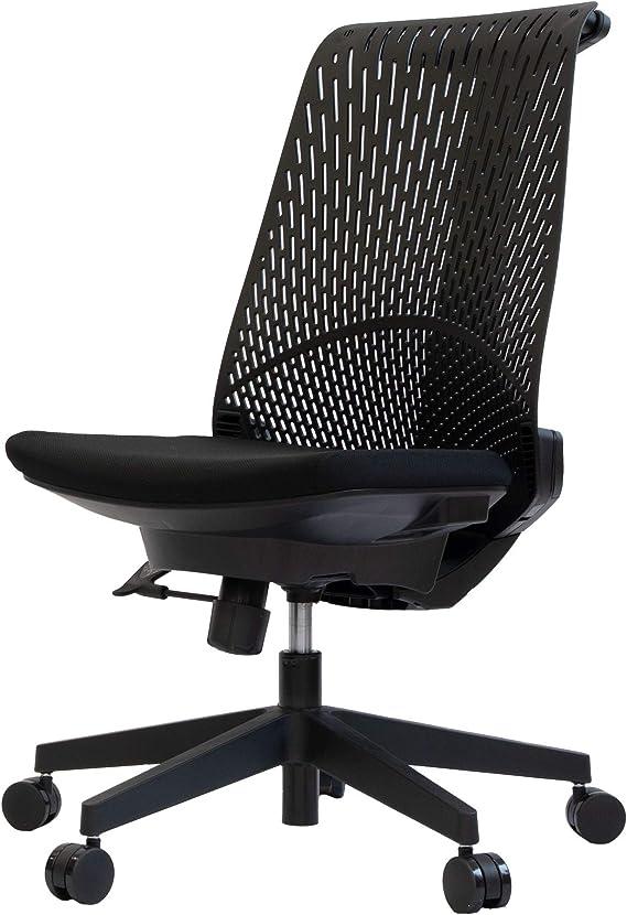 イトーキ オフィスチェア デスクチェア メッシュチェア サリダ YL6 YL6-BLEL ハイバック ブラック YL6-BLEL