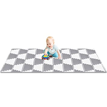 Baby 100% True Baby Play Mat Foam Floor Puzzle 9 Tiles Toddler Activity Gym Kids Safety Playmat