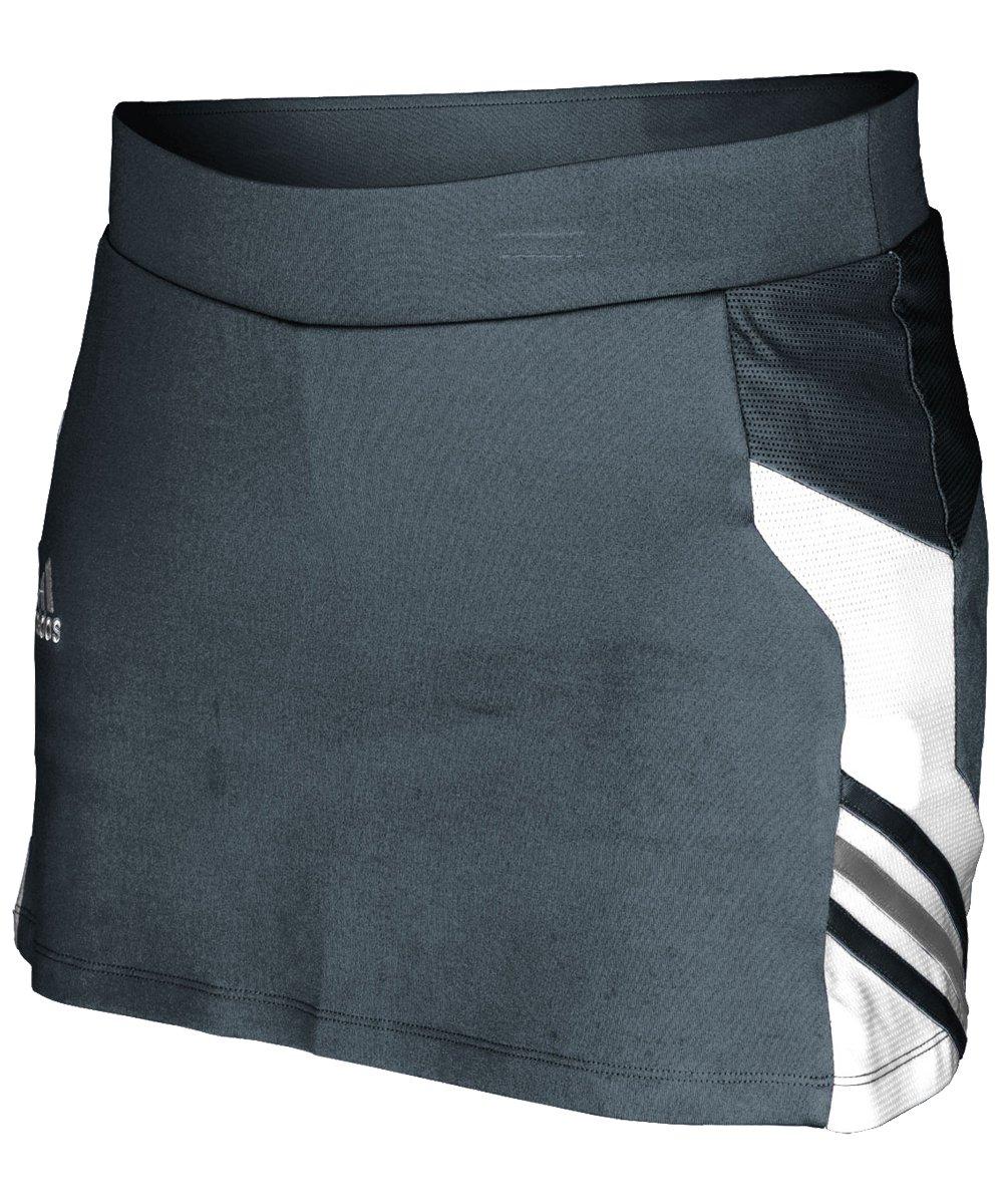 Adidas Climalite Womens Utility Skort L Lead-White