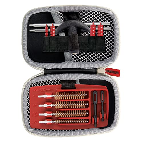 Real Avid Gun Boss Handgun Cleaning Kit – for .22, .357, 9MM, .38, .40, .44, and .45 caliber handguns