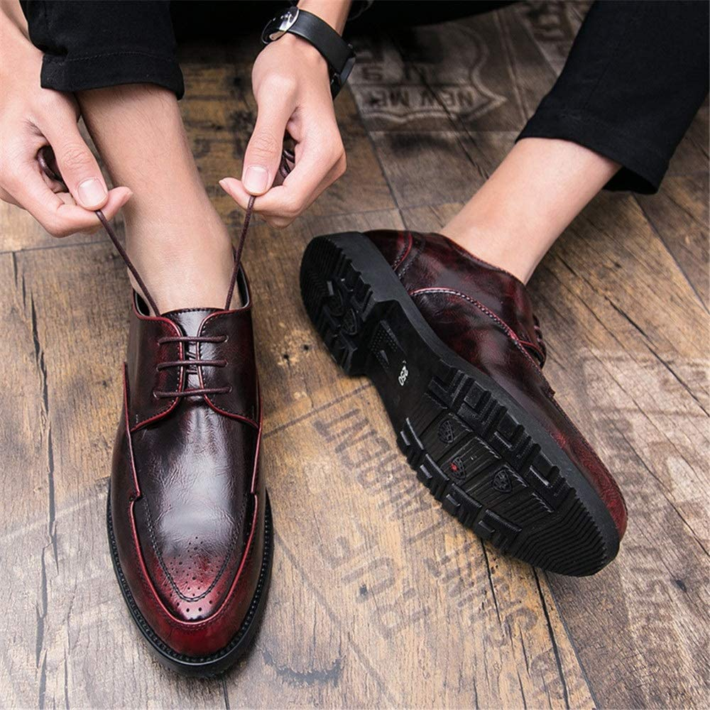 Casual Spring and Autumn New Soft Breathable Fashion Formal Shoes Shufang-shoes Mens Business Oxford Shoes