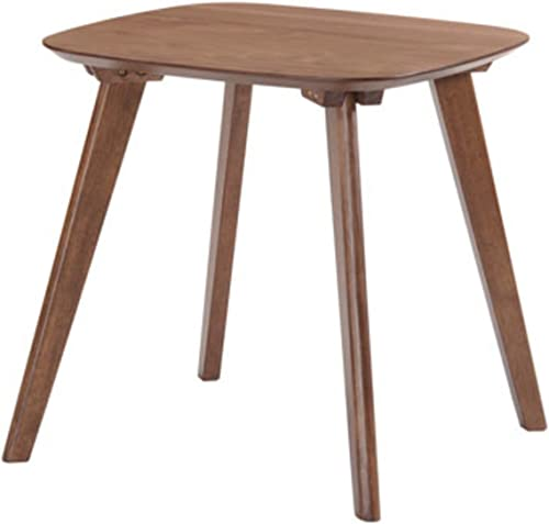 Emerald Home Simplicity Walnut Brown End Table