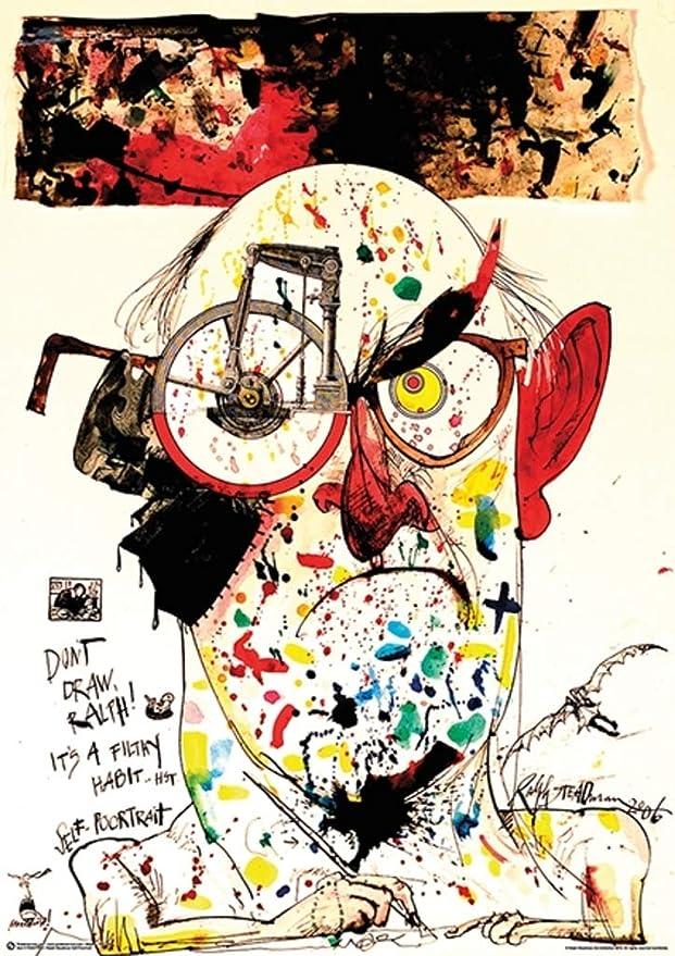 Killer Sport Ralph Steadman 24x27 Poster Print Art Poster Print 27x24