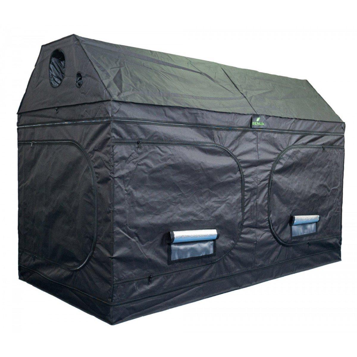 Senua Dachboden Grow Zelt Loft 240 x 120 x 160 cm 600D Mylar Innen Box Hydrokultur Dachboden wächst Zelt