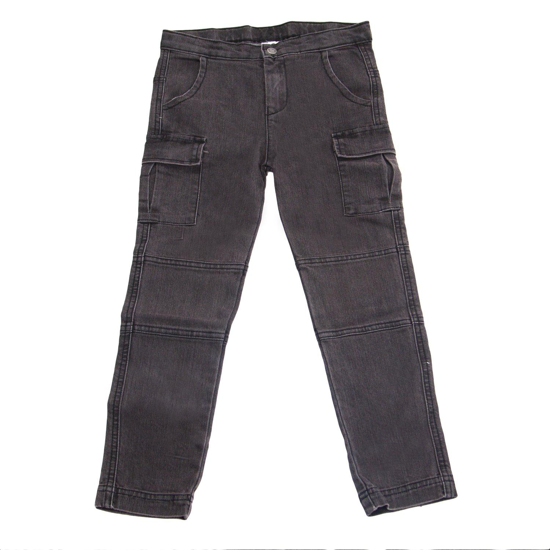 Appaman Big Girls' Skinny Cargo Jeans Sz 6 Vintage Black