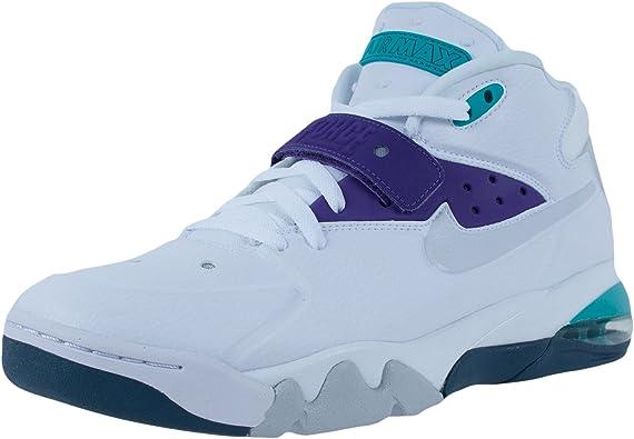 NIKE Air Force Max 2013 Mens Basketball Shoes 555105 101 White 11 M US