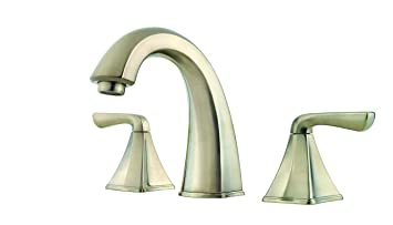 Price Pfister F049SLKK Selia Widespread Bathroom Sink Faucet, Brushed Nickel