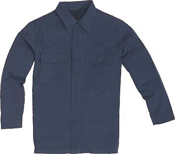 Delta plus - Camisa chemise ignifugo azul marino talla xxl ...