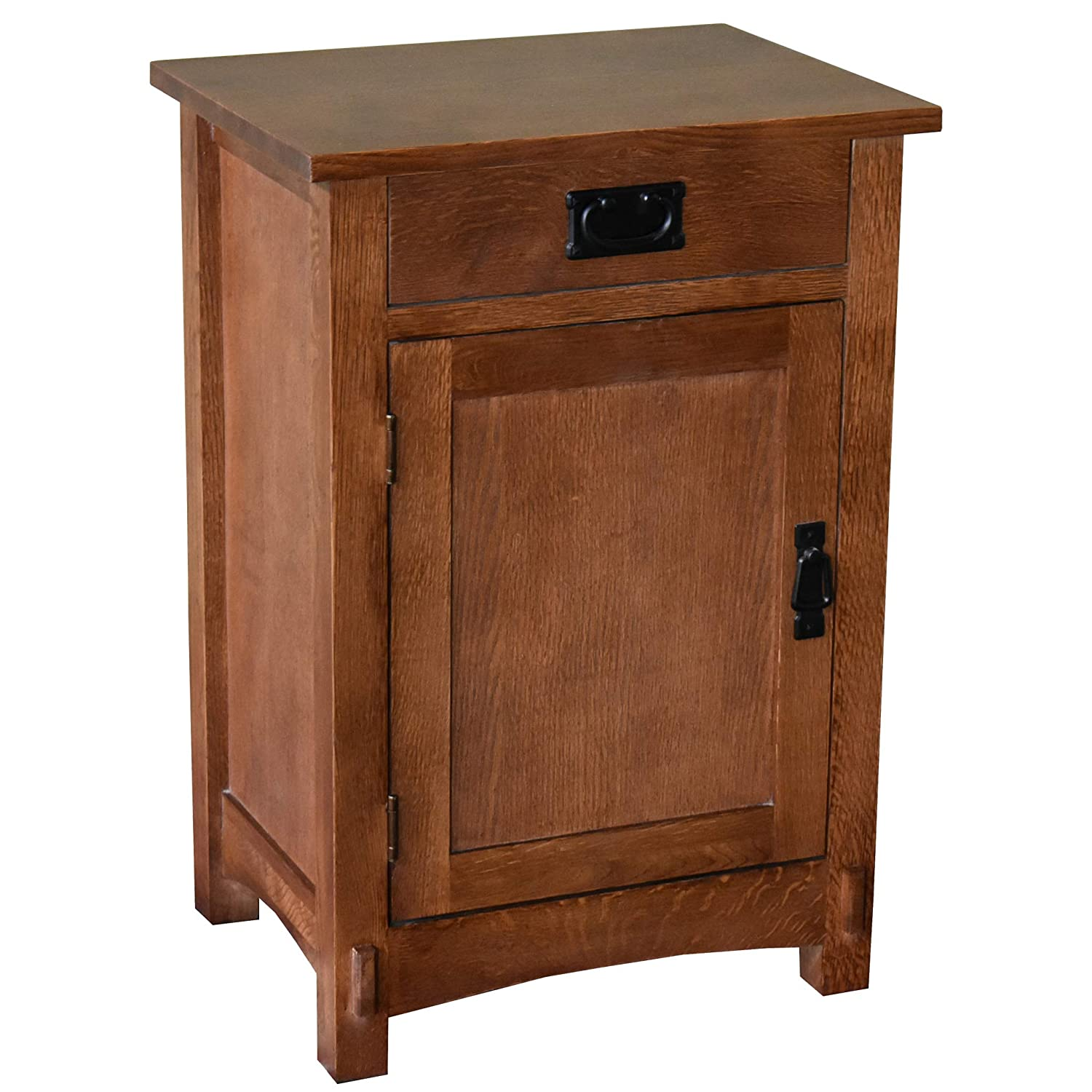Prime Crafters And Weavers Arts And Crafts Mission Oak Nightstand End Table Bedside Table Creativecarmelina Interior Chair Design Creativecarmelinacom