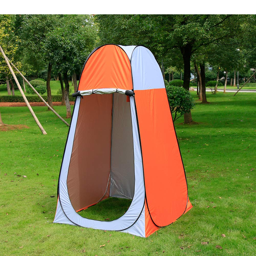 Iweibao Portable Folded Pop Up Pod Changing Room Beach Shower Toilet Tent (Yellow) by Iweibao
