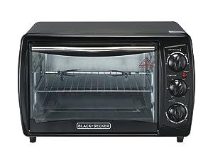 Black & Decker TRO2000R 19 L Toaster Oven with Rotisserie (Non-USA Compliant), Black