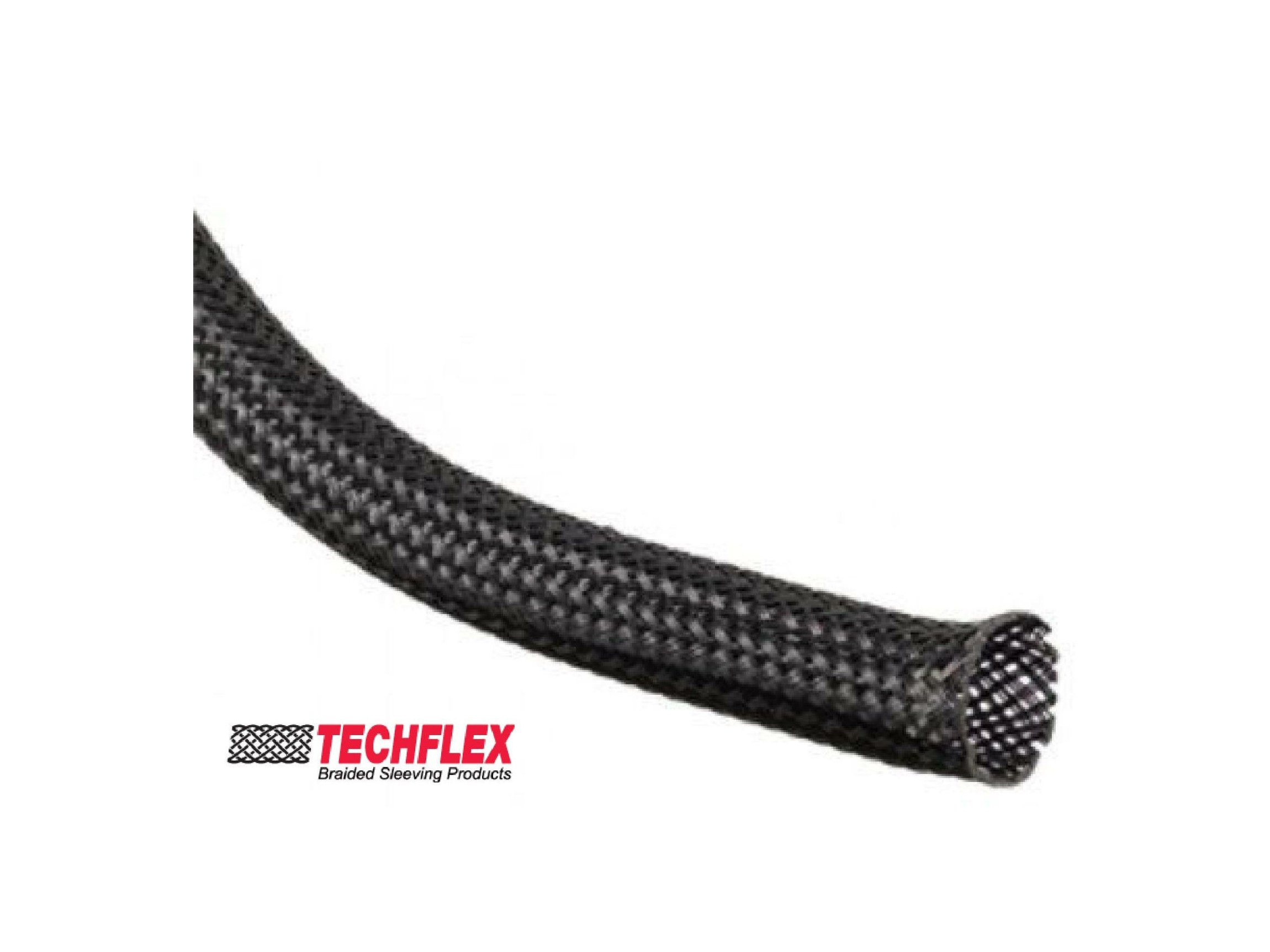 1/8 Techflex braided expandable sleeving ''Nylon'' (better than PET material) (1000FT)