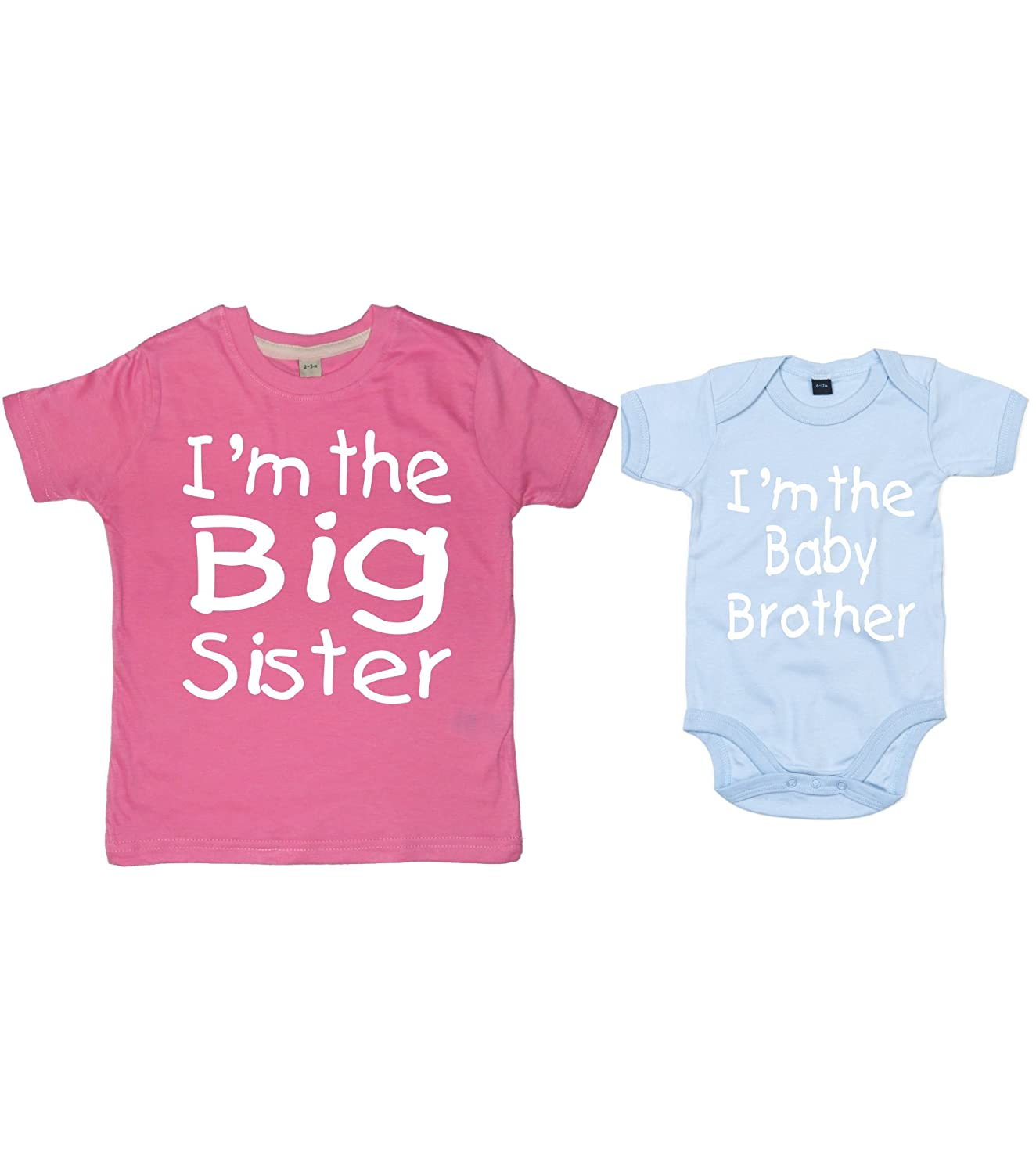 Perfect Edward Sinclair MATCHING BIG SISTER T-SHIRT AND BABY BROTHER  LS77