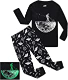 Amazon Price History for:Boys Pajamas Space-Glow-in-the-dark Toddler Clothes Kids Pjs Sleepwear Shirts