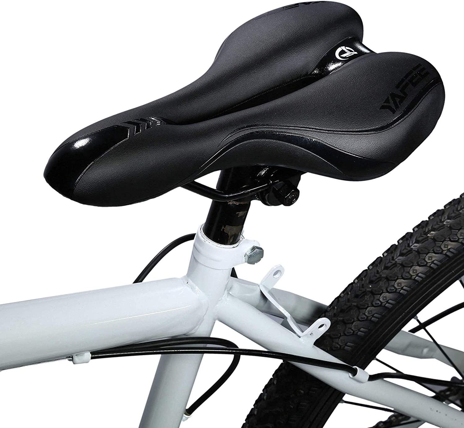 Foir Bike Saddle Mountain Bike Seat Breathable Comfortable Bicycle Seat with Central Relief Zone and Ergonomics Design Relax Your Body Road Bike and Mountain Bike