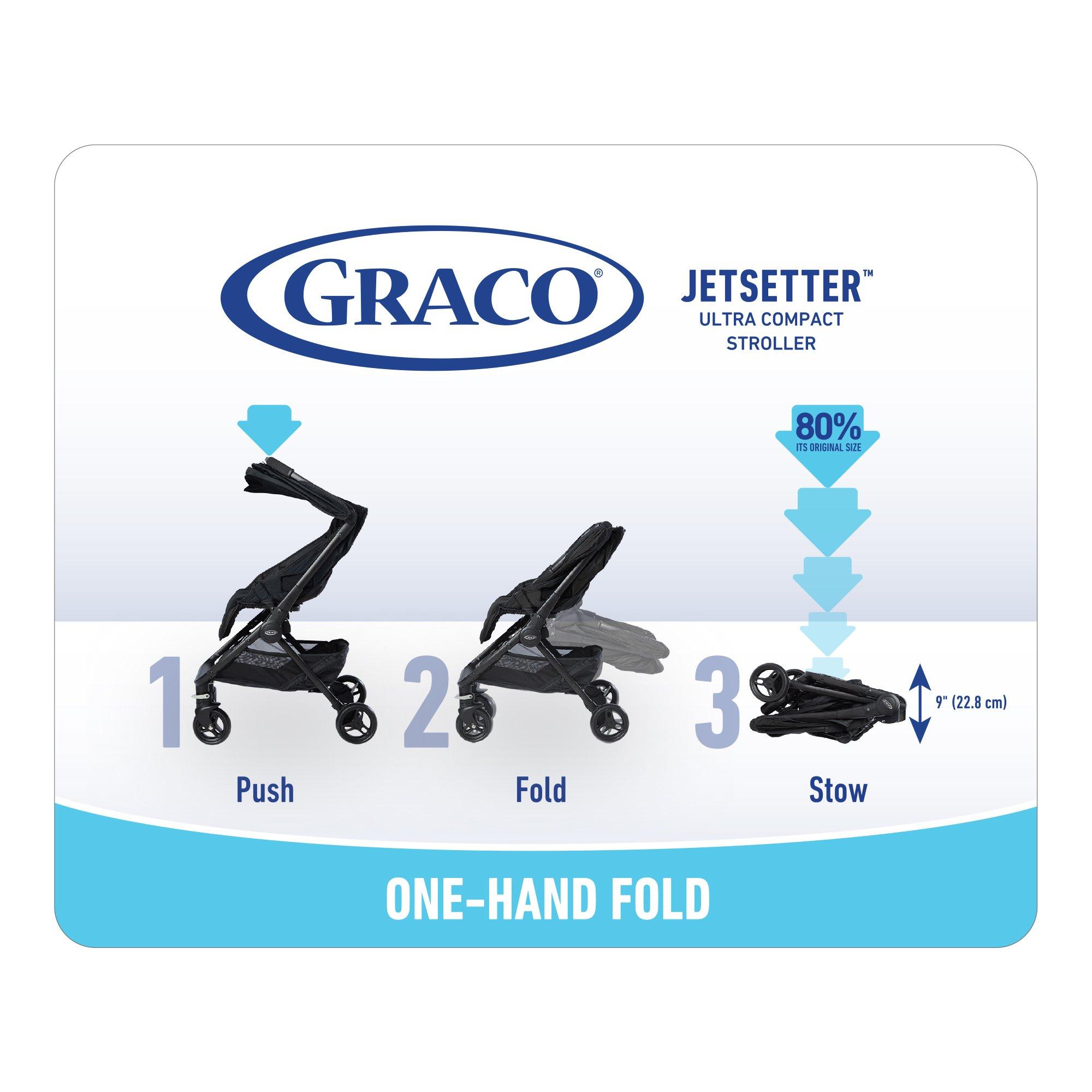 Graco Jetsetter Stroller, Finch by Graco (Image #3)