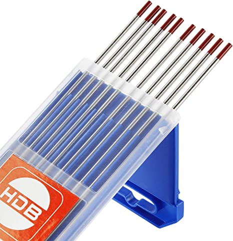 WIG Spannh/ülsengeh/äuse und Wolfram Elektrode f/ür PTA DB WP 17 18 26 WIG Brennerhals 22pcs