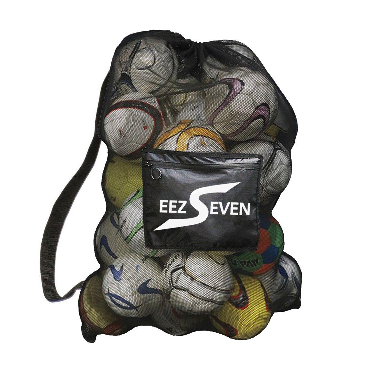 fd933b4ab622 Heavy Duty Extra Large Ball Mesh Bag Soccer Ball Bag Equipment Bag For  Sports Beach and