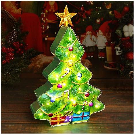 Decorated Ceramic Tree Ceramic Christmas Tree Christmas Tree with Yellow Star Ceramic Decoration Farmhouse Decor Christmas Decor