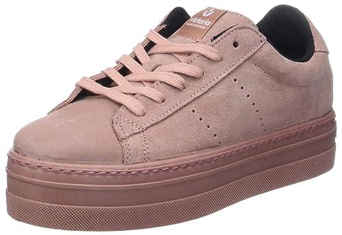 Victoria Deport Serraje Monocolor, Zapatillas para Mujer: Amazon.es: Zapatos y complementos