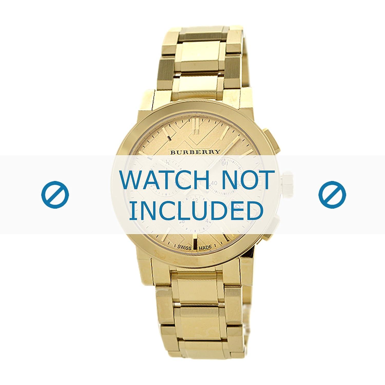 Burberry Uhrenarmband BU9753 Metall Gold (NUR UHRENARMBAND - UR NICHT INBEGRIFFEN!)