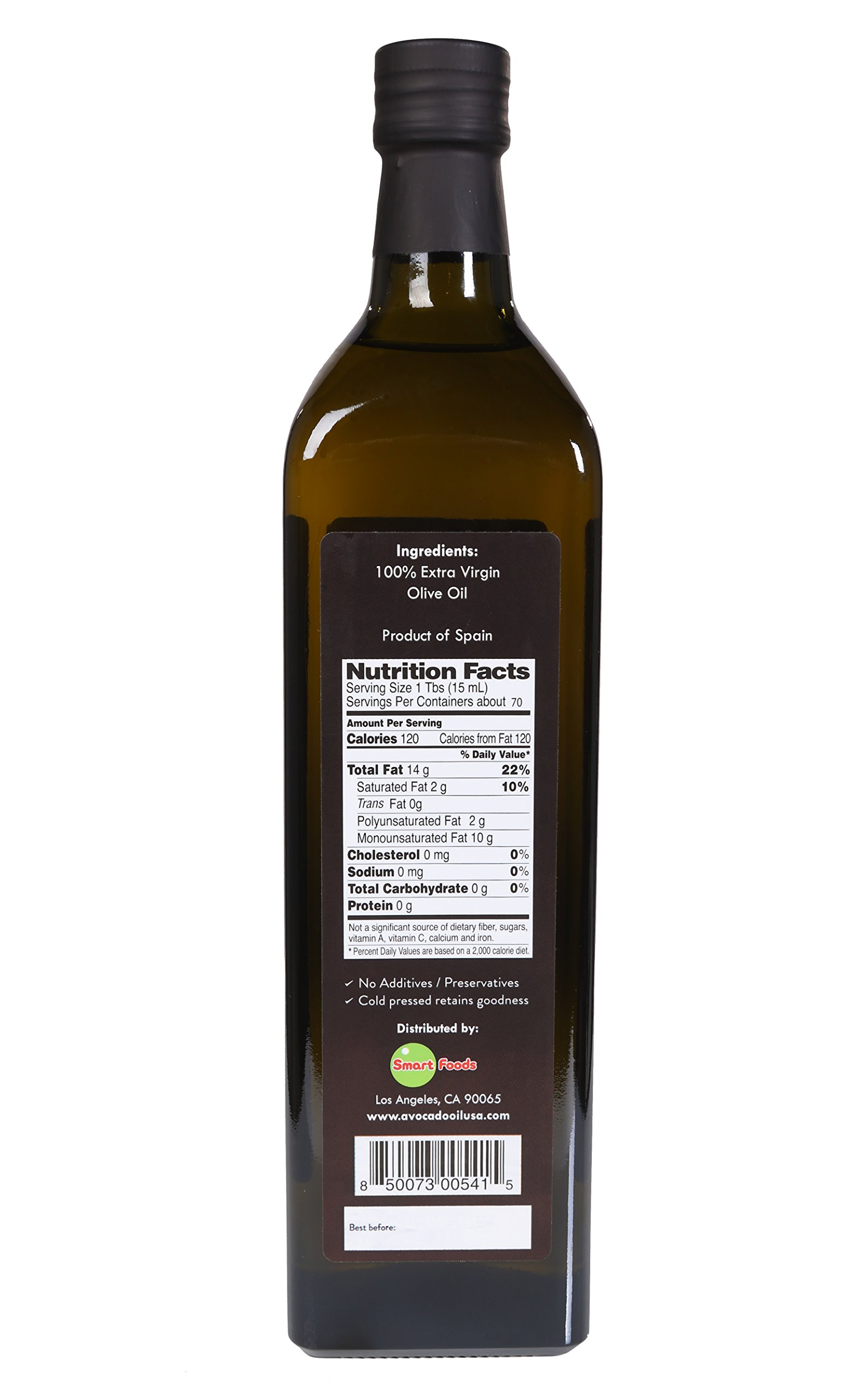 Lombardi Extra Virgin Olive Oil 33.8 fl oz Premium Quality 1 Liter Kosher Product of Spain Cold Pressed for Cooking, Baking, and Salad Dressing by Lombardi (Image #3)