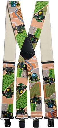 Brimarc Mens Heavy Duty Tractor Mixed Fields Braces Trouser Belt Suspender 2 50mm Wide