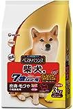 ベストバランス カリカリ仕立て 柴犬用 7歳以上用 チキン・野菜・小魚・玄米入り 3kg