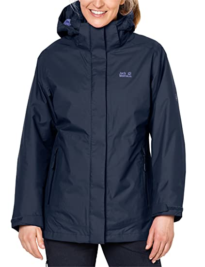 wholesale dealer ceca6 eb8a8 Jack Wolfskin Damen Arborg 3-in-1 Jacke