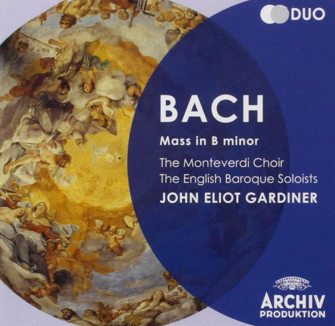 Image result for bach mass in B minor John eliot gardiner amazon