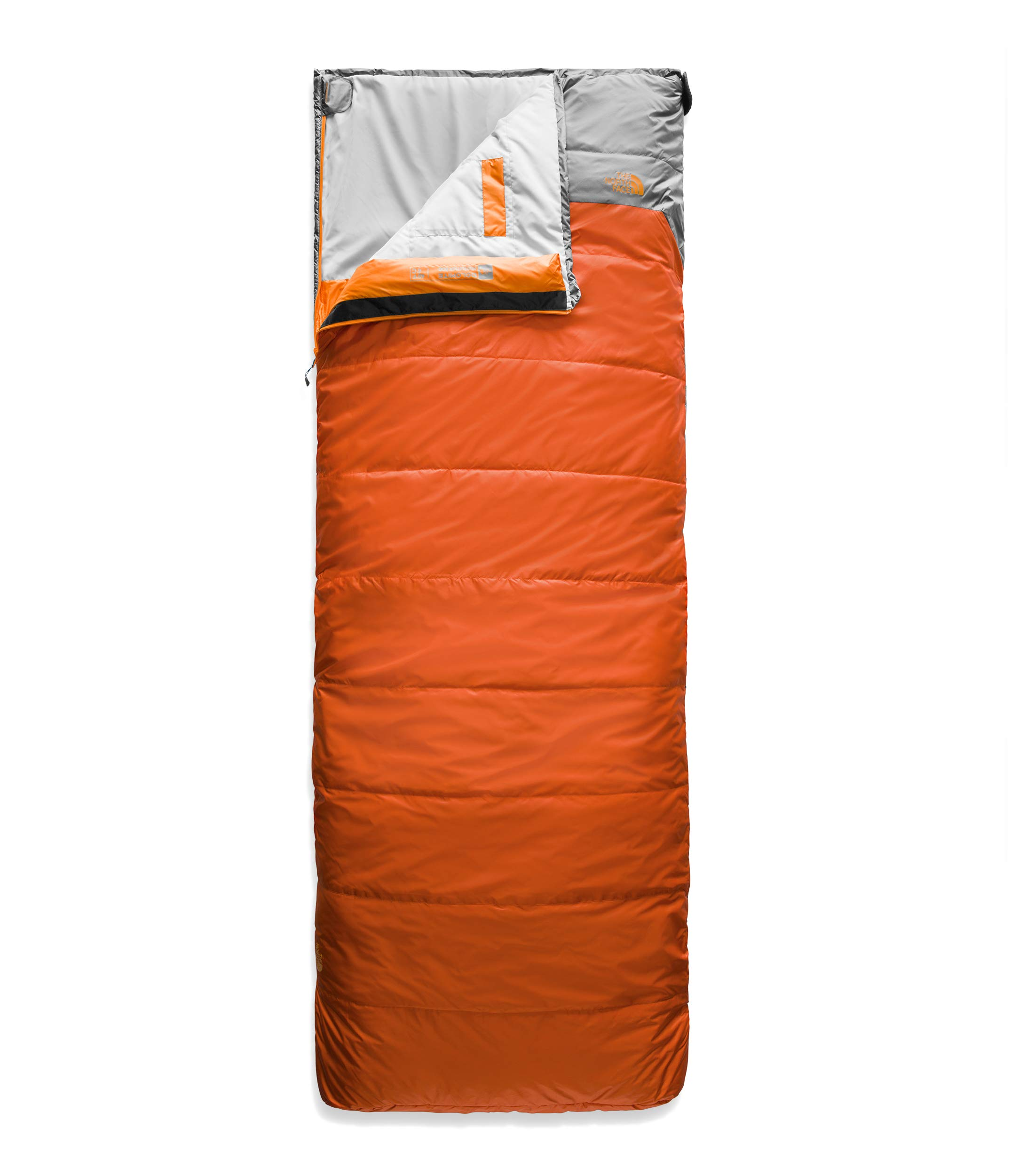 The North Face Dolomite 40F/4C, Monarch Orange/Zinc Grey, Large by The North Face