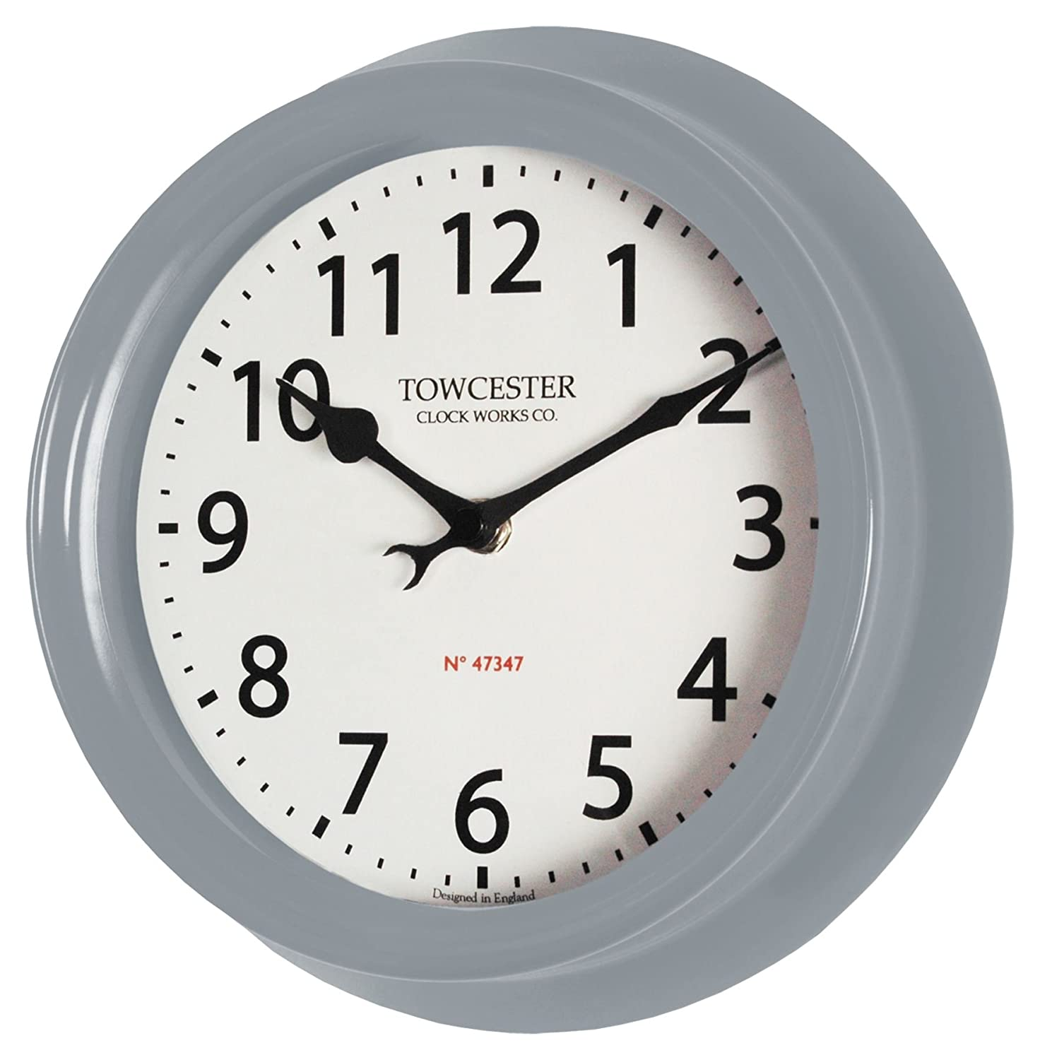Beautiful Weather-Proof Basic Style Clock