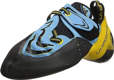 La Sportiva Futura Blue/Yellow, Zapatillas de Escalada Unisex niños