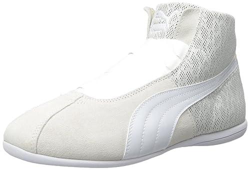 dfaf00bebd7b PUMA Women s Eskiva Mid Textured Cross-Trainer Shoe
