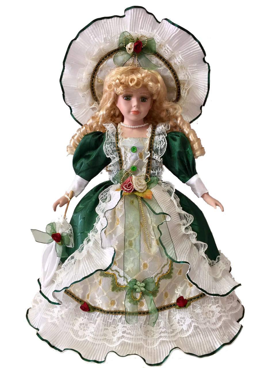 Muñeca de porcelana Victoria de 16.0 in